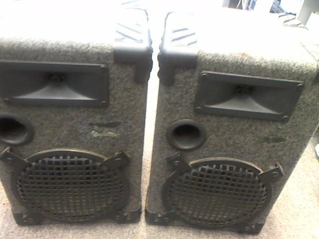 Speakers/Subwoofer BOOKSHELF SPEAKERS
