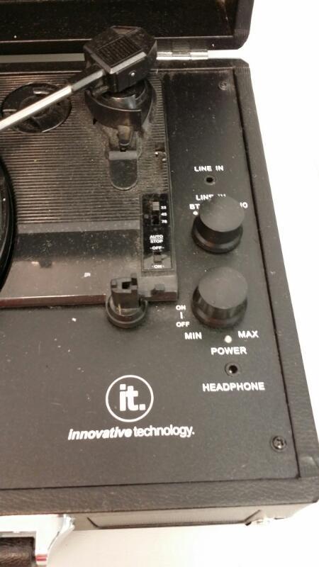 INNOVATIVE TECHNOLOGY Turntable ITVS-550BT