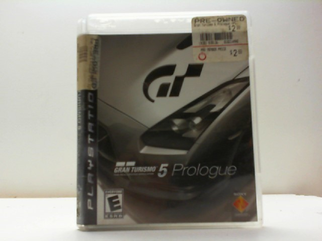 SONY Sony PlayStation 3 Game GRAN TURISMO 5 PROLOGUE