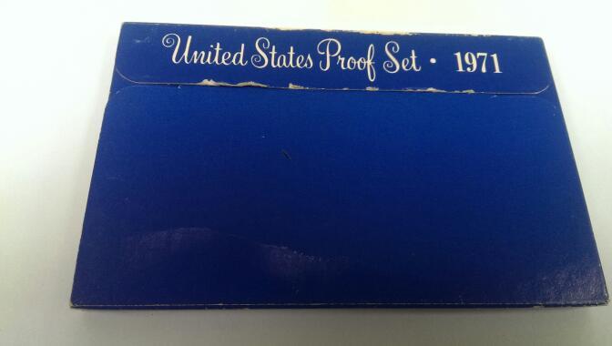 UNITED STATES 1971 PROOF SET