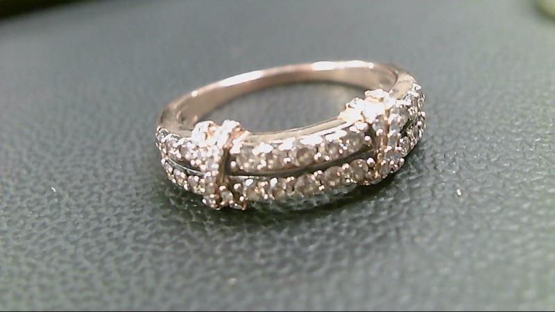 Lady's Diamond Fashion Ring 17 Diamonds .68 Carat T.W. 10K Rose Gold 3.4g
