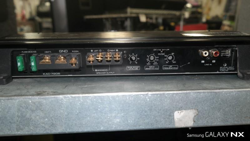 KENWOOD Car Amplifier KAC-7005PS