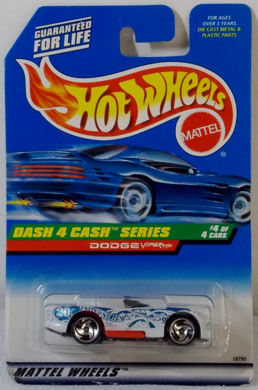 HOT WHEELS: DASH 4 CASH SERIES, COMPLETE SET