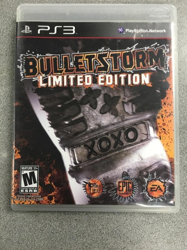 SONY Sony PlayStation 3 Game BULLETSTORM EPIC