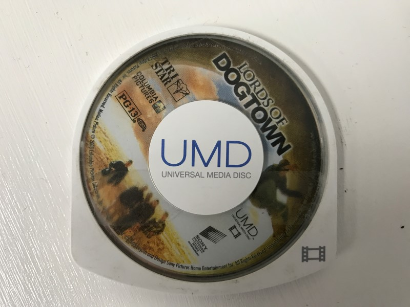 SONY PSP UMD MOVIE LORDS OF DOGTOWN