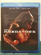 BLU-RAY MOVIE Blu-Ray PREDATORS