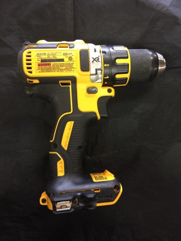 DEWALT Cordless Drill DCD790