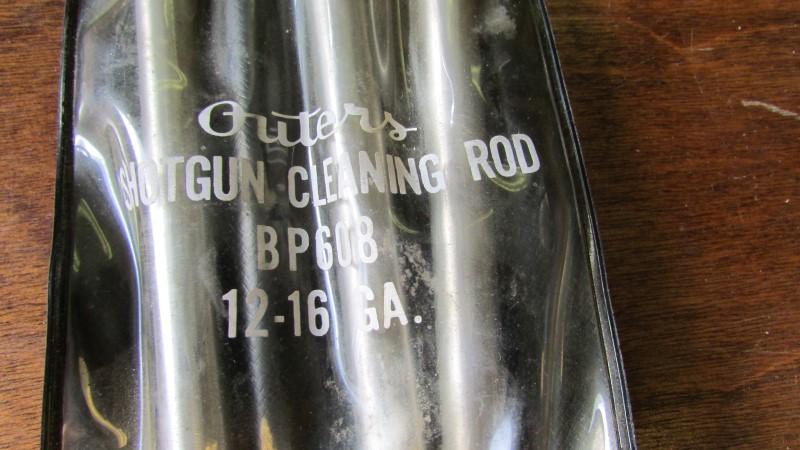Outers SHOTGUN CLEANING ROD BP608 12-16GA