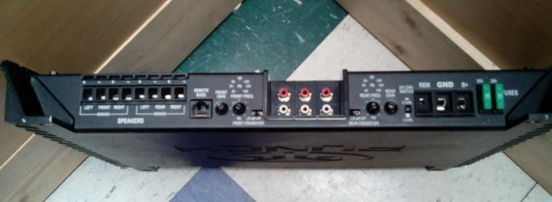 Rockford Fosgate Amp 400 Watt 4-Channel Amplifier