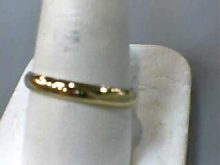 Gent's Gold Wedding Band 10K Yellow Gold 1.2dwt Size:10