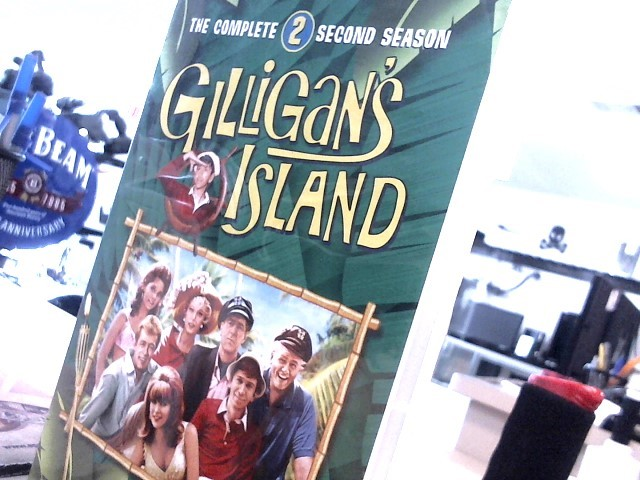 DVD MOVIE DVD GILLIGANS ISLAND: COMPLETE SECOND SEASON (1965)
