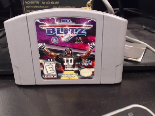 NINTENDO Nintendo 64 Game NFL BLITZ 10