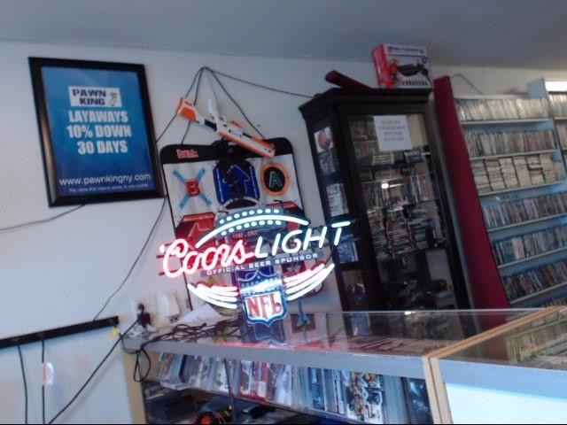 COORS LIGHT LIGHT NFL NEON LIGHT
