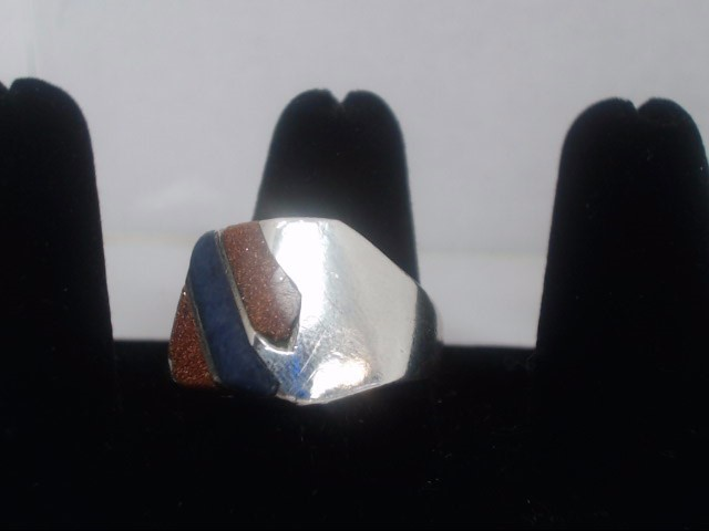 Gent's Silver Ring 925 Silver 13.7g