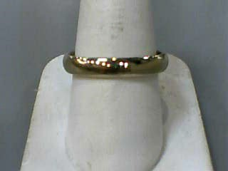 Gent's Gold Wedding Band 14K Yellow Gold 3dwt Size:11.3