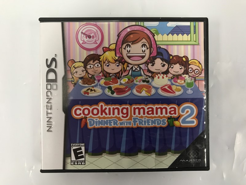 NINTENDO DS COOKING MAMA 2: DINNER WITH FRIENDS