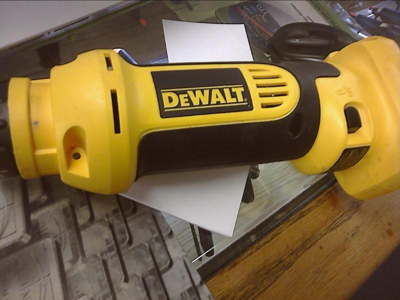 DEWALT Spiral Cut Saw DC550