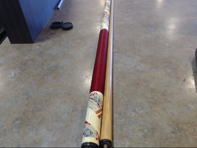 ANHEUSER-BUSCH Pool Cue BUDWEISER POOL STICK