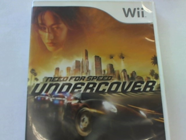 WII - NEED FOR SPEED UNDERCOVER