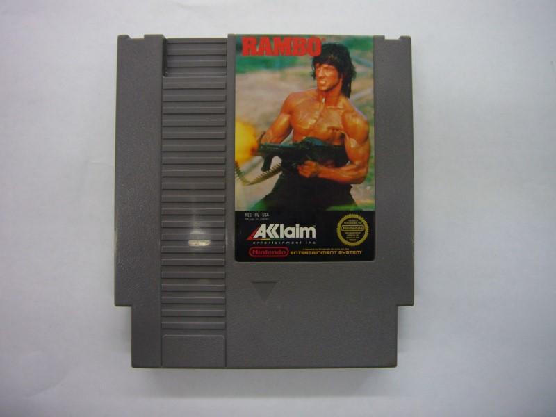 NINTENDO NES Game RAMBO *CARTRIDGE ONLY*