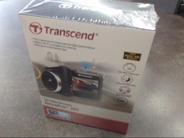 TRANSCEND Digital Camera DRIVEPRO 200 DRIVEPRO 200