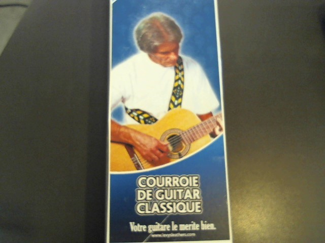 LEVY'S GUITAR STRAPS Musical Instruments Part/Accessory M20N