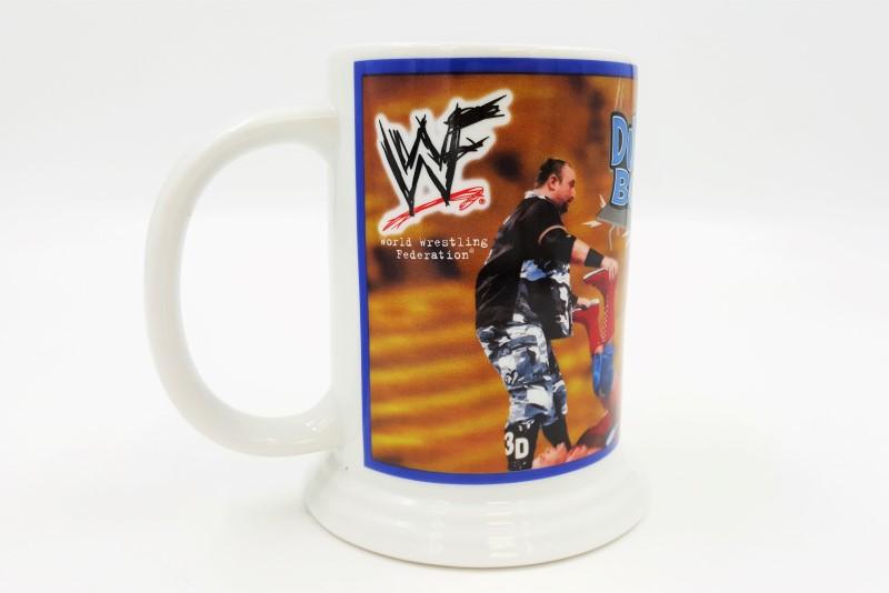 2001 WWE/WWF Dudley Boyz Collector's Wrestling Danbury Mint Mug/Stein