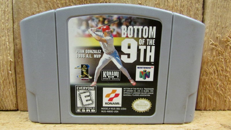NINTENDO Nintendo 64 Game BOTTOM OF THE 9TH N64