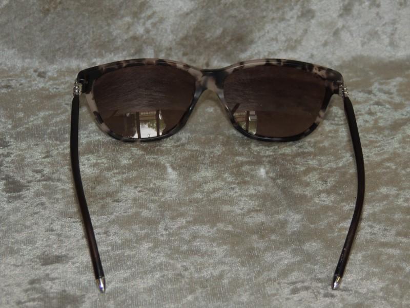 Bvlgari 8115-B 5257/13 Matte Vintage Rose Havana / Brown Cats Eyes Sunglasses