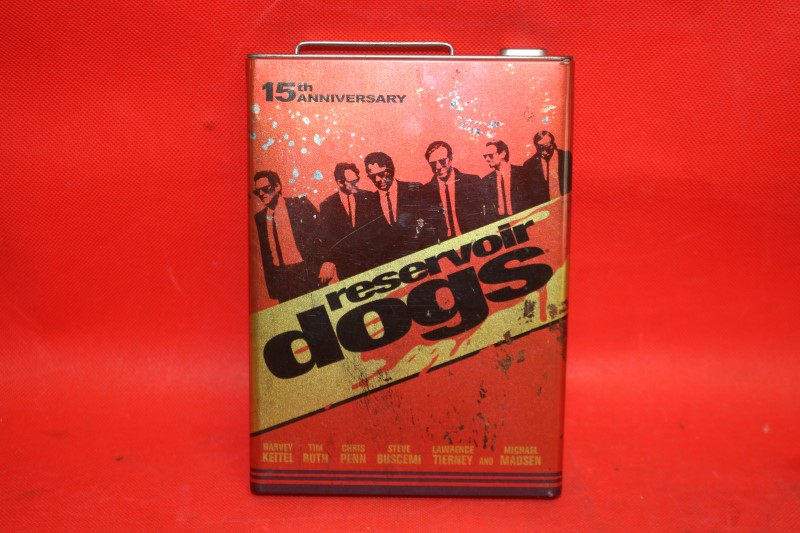 Reservoir Dogs (DVD, 2006, 15th Anniversary) *GAS CAN* MATCHBOOK CASE