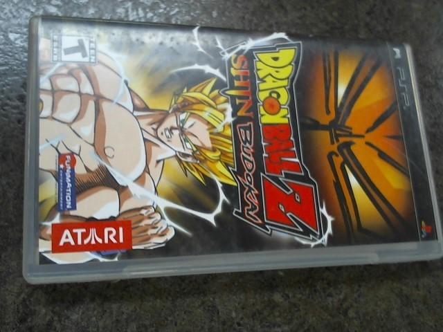 SONY Sony PSP Game PSP DRAGONBALL Z SHIN BUDOKAI