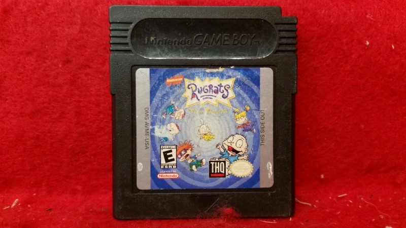 Rugrats: Time Travelers (Nintendo Game Boy Color, 1999)