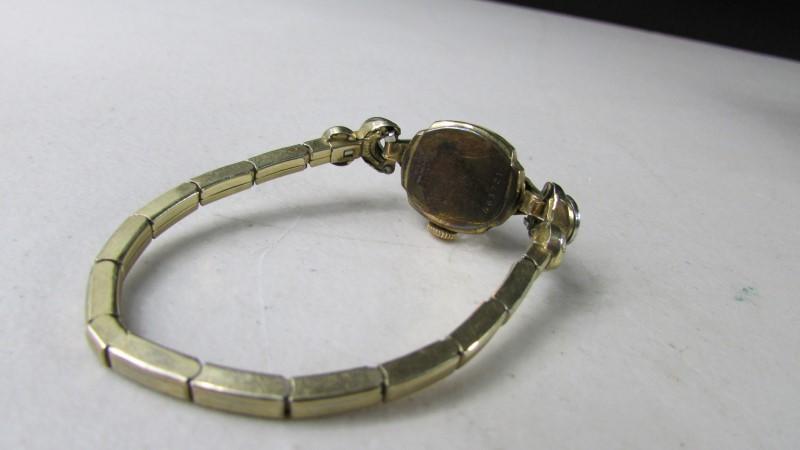 BULOVA Lady's Wristwatch GOLD FILLED 463721