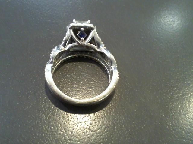 Lady's Diamond Fashion Ring 86 Diamonds 2.73 Carat T.W. 10K White Gold 4.8g