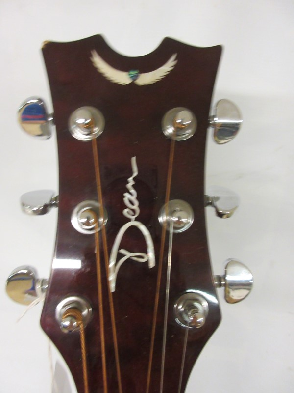 DEAN GUITARS Acoustic Guitar JC QM TGE GC