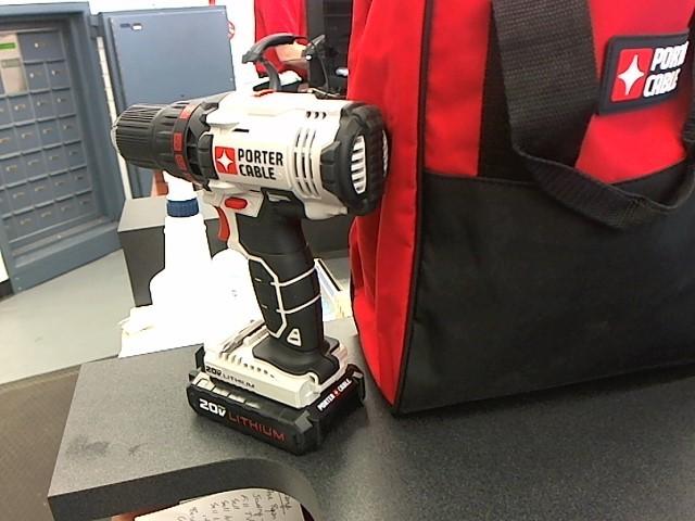 PORTER CABLE Cordless Drill 20V DRILL