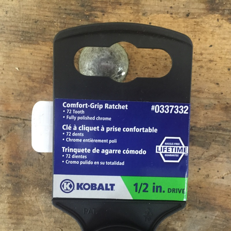 KOBALT TOOLS Sockets/Ratchet 0337332