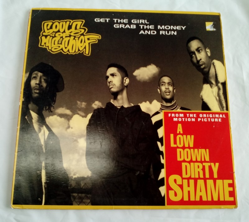 JIVE RECORDS A LOW DOWN DIRTY SHAME SOUNDTRACK VINYL