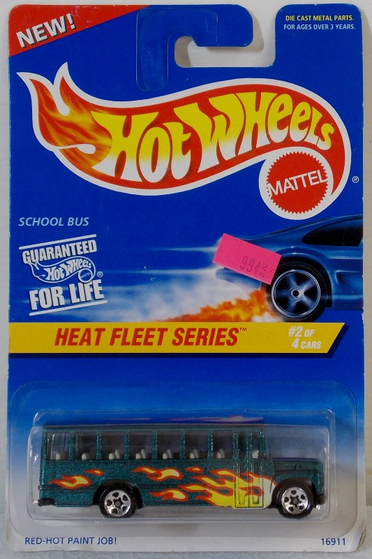 MATTEL HOT WHEELS HEAT FLEET SERIES, INCOMPLETE