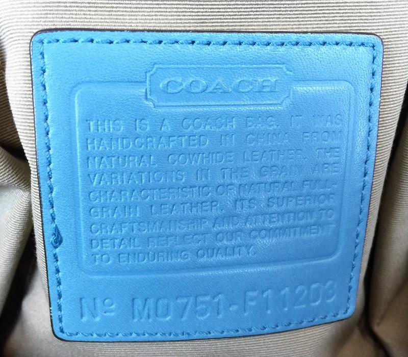 COACH F11203 EXECUTIVE TOTE