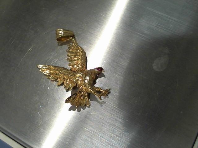 Gold Pendant 14K Yellow Gold 6.5g