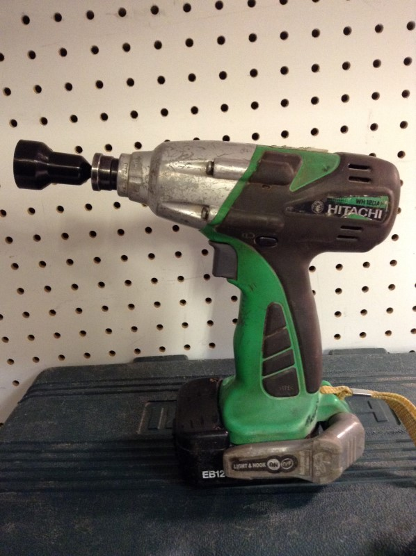 HITACHI Cordless Drill WH12DAF2