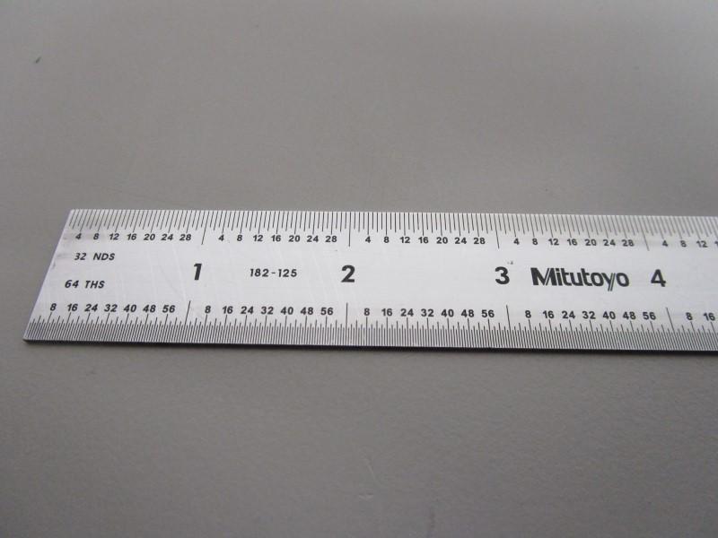 "MITUTOYO 182-125 12"" RULER"