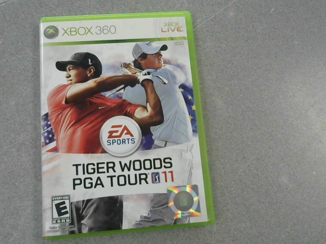 MICROSOFT Microsoft XBOX 360 Game TIGER WOODS PGA TOUR 11