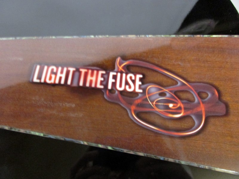 KEITH URBAN LIGHT THE FUSE ACOUSTIC/ELECTRIC GUITAR