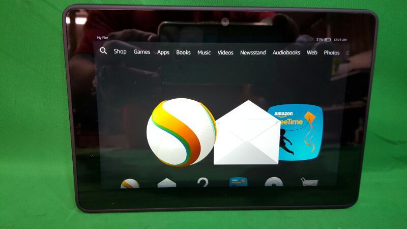 AMAZON Tablet KINDLE FIRE HDX-C9R6QM