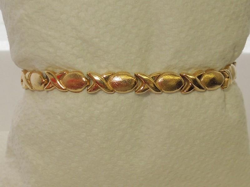 Gold Bracelet 14K Yellow Gold 5.4g