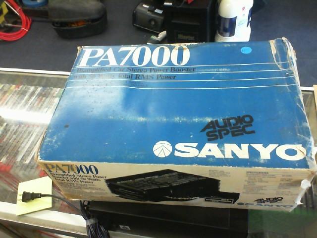 SANYO Home Audio Parts & Accessory PA7000
