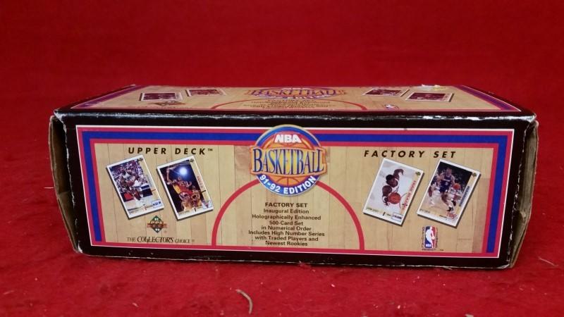 1991-1992 NBA Basketball Upper Deck Factory Set