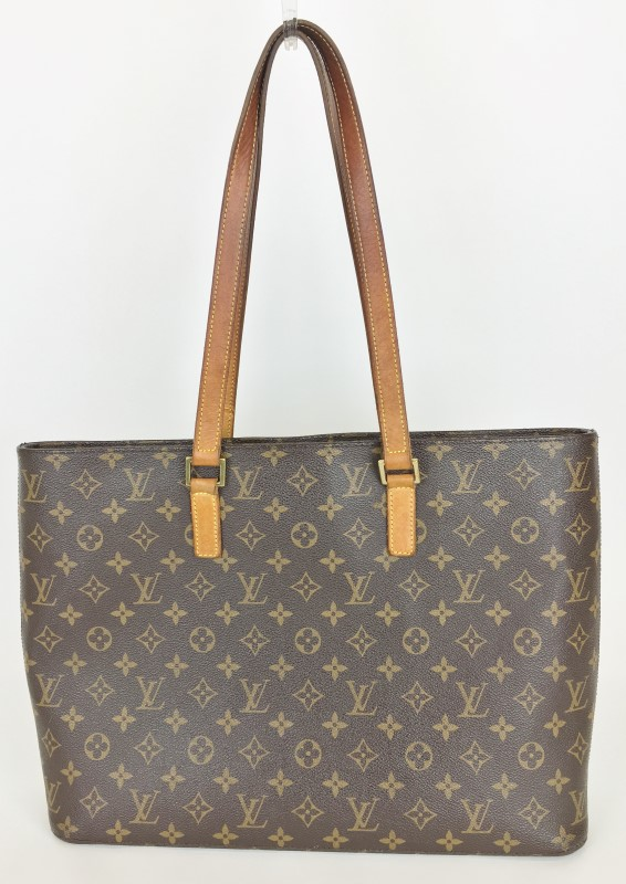 LOUIS VUITTON MONOGRAM CANVAS LUCO TOTE BAG